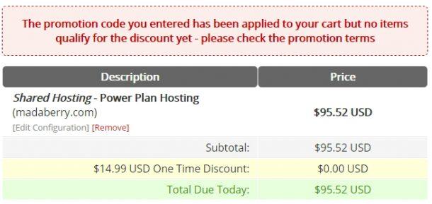 webhostingpad値段